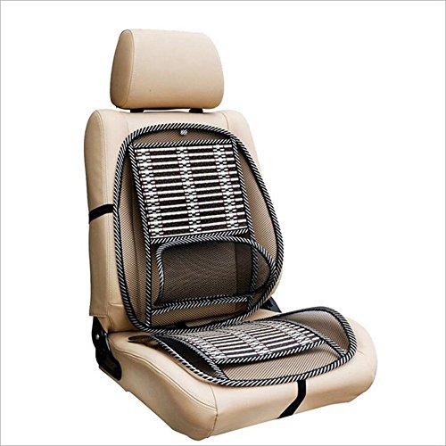 Alftek Auto Sitzkissenbezug Kühlung Massage Matte Rücken Lendenwirbelsäule Komfortable Atmungsaktive Unterstützung -