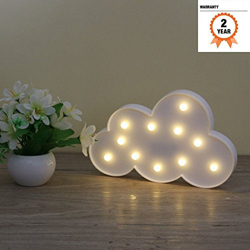 Lámparas decorativas, Atump Decoración Iluminación Lámpara de mesa de luz LED Iluminación...