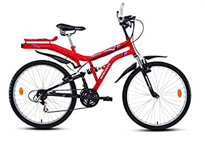 "Hercules Dynamite ZX Bike, 26"" (New Ferrari Red Black)"