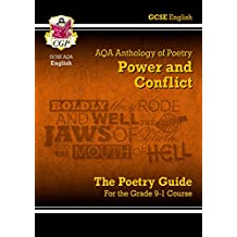 New GCSE English Literature AQA Poetry Guide: Power & Conflict Anthology - for the Grade 9-1 Course (CGP GCSE English 9-1 Revision)