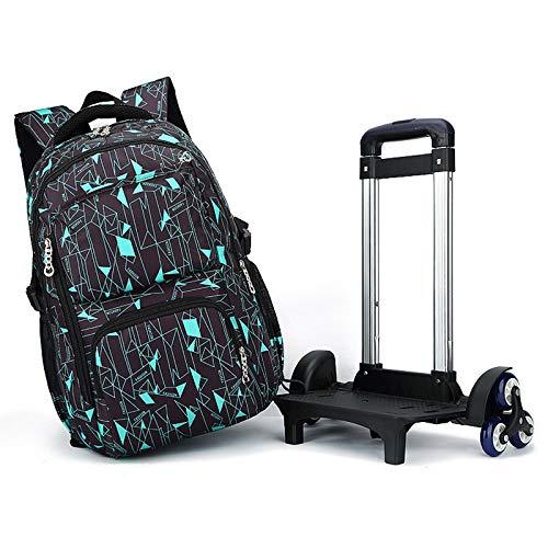 Meobhi Book Removable Stairs Children Trolley Girls Luggage Latest 26 Kids Boys School Bags Ziranyu Schoolbag Wheels Backpack Nv0wm8nO