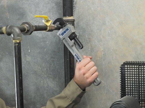 Irwin 20741122Kiefer Kapazität 12Zoll Aluminiumguss Rohrzange