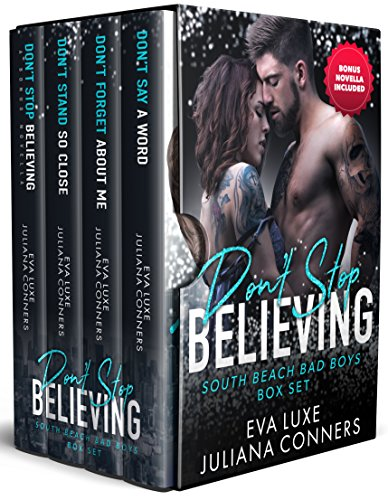Don't Stop Believing: Complete South Beach Bad Boys Series Box Set Romance Collection (English Edition) (Season New Womens Collection)