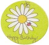 Cake Company Esspapierauf.Geburtstagsblume 4cm25STÜCK 2er Pack (2 x 8 g)