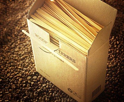 greenfeel Waxing Spatel aus Holz 178mm 17,8cm Holz Applikatoren für Haarentfernung Waxing Einweg Tatoo Sticks Zecken erhältlich von Plastikbeutel (Holz Applikator-sticks)