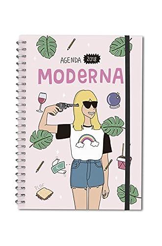 Agenda bolsillo 2018 Moderna de Pueblo