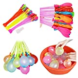 Gfone Kinder-selbstdichtende Multicolor Quick Fill Wasserballons Bewässerung Spielzeug Luftballons