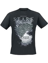 Game of Thrones House Stark T-shirt noir