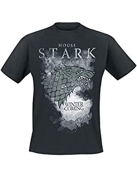 Game Of Thrones House Stark - Winter Is Coming T-Shirt schwarz