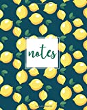 Best Creative Composition Notebooks - Notes, Composition Notebook: Navy Lemons, 150 Pages, Medium Review