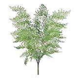Kesheng Künstlicher Farne Pflanzen Grün für Garten Balkon Wohnzimmer Dekoration