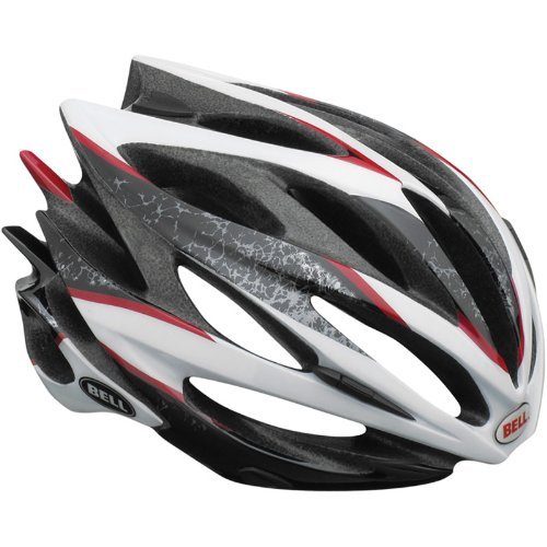 Bell Fahrradhelm SWEEP 10, White/SIlver, S (51-55cm), 210030004