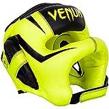 VENUM Kopfschutz, Iron, Elite, gelb, Headguard, Vollkontakt Protector, Muay Thai