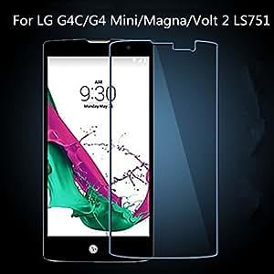 New Tempered Glass Film Screen Protector For LG G4C/G4 Mini/Magna/Volt 2 LS751**