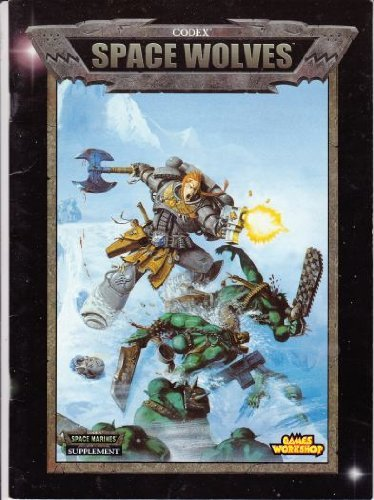 Warhammer 40, 000 Codex: Space Wolves by Jervis Johnson (2000-02-01)