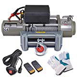 ReaseJoy 13,000lbs (3897kgs) ATV Electric Recovery Winch Kit Wireless Remote Control 12V UTV Trailer Truck Car