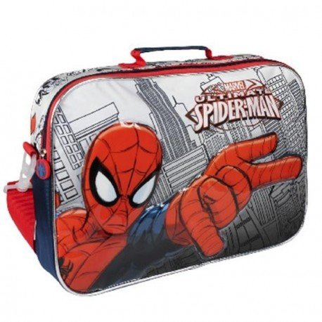 Spiderman, Set de Sac Scolaire Rouge Rouge