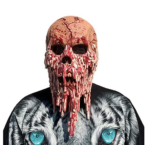 Doktor Evil Kostüm - JOKOP Horrormaske Walking Dead Resident Evil