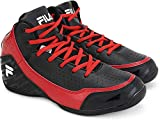 #8: Fila TRACK Basket Ball (Black, Red)