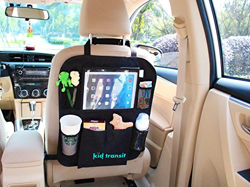 kid-transit-back-seat-car-organiser-for-kids-with-tablet-holder-clear-pocket-perfect-for-97-ipad-and