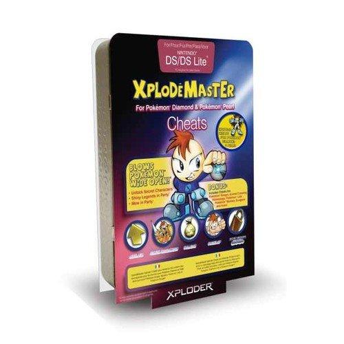 Nintendo DS - Xploder Cheat Saves (Pokemon Pearl Version)