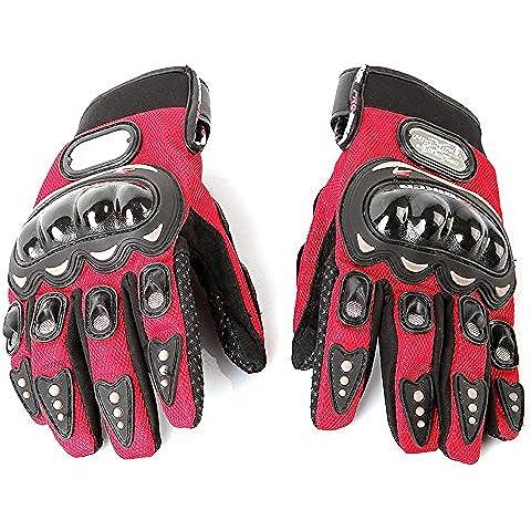 Lixada Full Finger guanti / mano protettiva per motocicletta/ bici/ moto/ bicicletta/ ciclismo