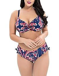 d135e69e44930 ShiFan Bikini-Sets Bademode Push-Up Badeanzug Große Größen Für Mollige  Frauen