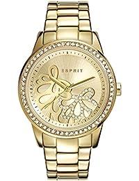 Esprit - ES108122005 - Montre Femme - Quartz - Analogique - Bracelet Acier Inoxydable doré