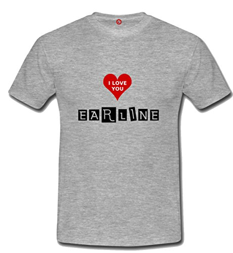 T-shirt Earline grigia