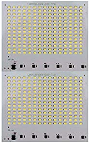 K3 210 SMD Led -100W Aluminum Plate Base Board for LED Flood Light White -100 watt,(Pack of 2) Also can fit in