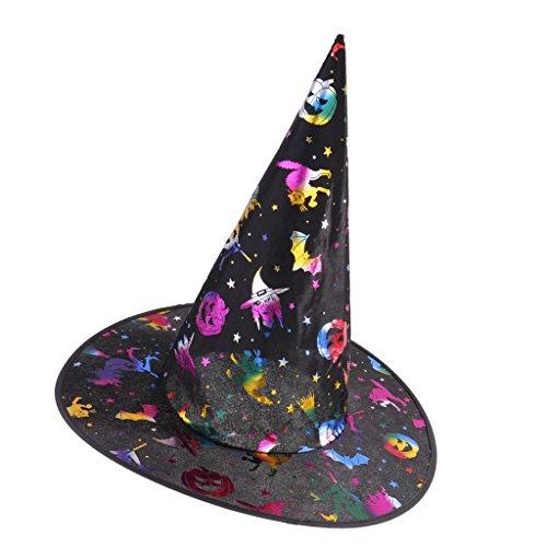 Gazechimp Halloween Zauberer Hut Hexenhüte Hexe Kostüme für Party (Billig Hexe Kostüme)