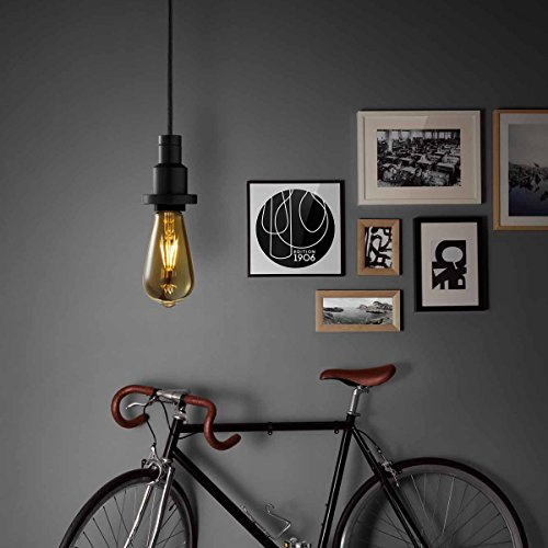OSRAM LED Vintage Edition 1906 / LED-Lampe in Edison Form mit E27-Sockel / Nicht Dimmbar / Ersetzt 35 Watt / Klar / Warmweiß – 2700 Kelvin / 1er-Pack - 5