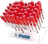 Unior Schraubendreherset VDE, im Plexidisplay, 1 Stück, 603S50VDE
