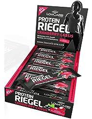 Layenberger LowCarb.one Protein-Riegel Cranberry-Cassis 18 Stück à 35 g, 1er Pack (1 x 630 g)