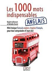 Petit livre de - Les 1 000 mots indispensables en anglais