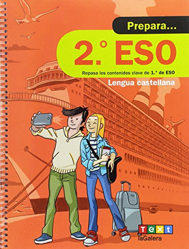 Prepara 2n ESO Lengua castellana (Quaderns estiu) - 9788441230408
