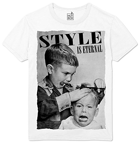 hotbox T Shirt Style is Eternal Funny Barber Friseur Friseuse Friseurin S
