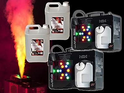 American DJ Fog Fury Jett Vertical Smoke Machine Package inc Fluid