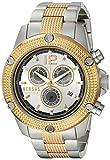 Versus by Versace hombres 'aventura' Casual de acero inoxidable de cuarzo reloj de pulsera, color: dos tono (modelo: soc120015)