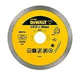 DeWalt DT3715-QZ Diamanttrennscheibe 110x20.0mm, Fliesen EXTREME