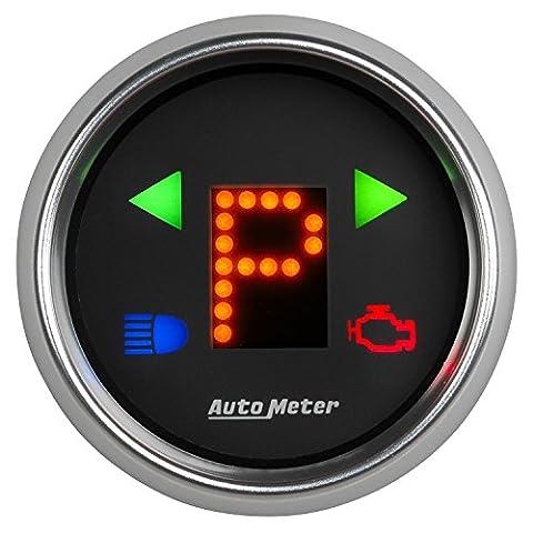 Auto Meter 6150 2-1/16 Gauge PRNDL+ Black Face