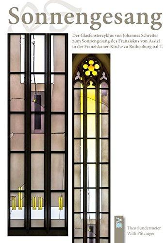 asfensterzyklus von Johannes Schreiter zum Sonnengesang des Franziskus von Assisi in der Franziskaner-Kirche zu Rothenburg o. d. Tauber ()