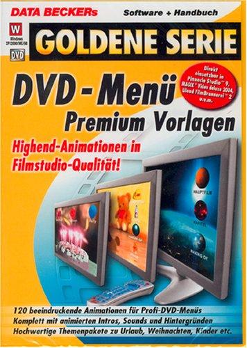 DVD-Menü Premium Vorlagen, DVD-ROM Highend-animationen in Filmstudio-Qualität! 120 beeindruckende Animations für Profi-DVD-Menüs. Komplett mit animierten Intros, Sounds und Hintergründen. Hochwertige Themenpakete zu Urlaub, Weihnachten, K