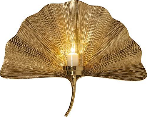 Ginkgo Leaf - Soporte de Pared para Velas (60 cm)