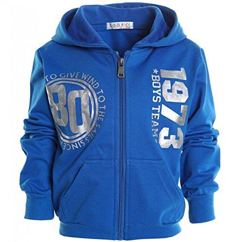 Jungen Kinder Kapuzen Pullover Hoodie Sweat Shirt Jacke Langarm Winter 20718