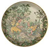 Heinrich Villeroy und Boch die Schwarz Medick Fairy Cicely Mary Barker zweiten Reihe der Flower Fairies Collection cp362
