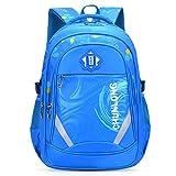 Fanspack Schulrucksack Jungen Teenager Schultasche Kinderrucksack Spritzwassergeschützter Schülerrucksack Große Kapazität Business Zaino Reiserucksack für Kinder