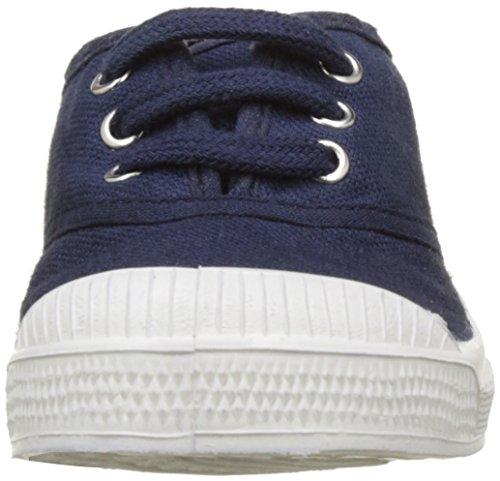 Bensimon Tennis, Baskets Basses Fille Bleu (Marine)