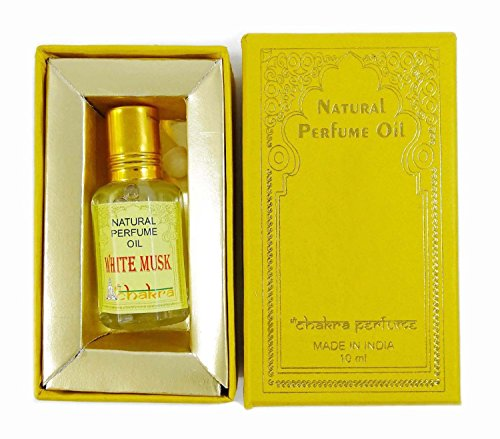 Chakra parfum naturel parfum White Musk Parfum 100% naturel pure 10ml d'huile