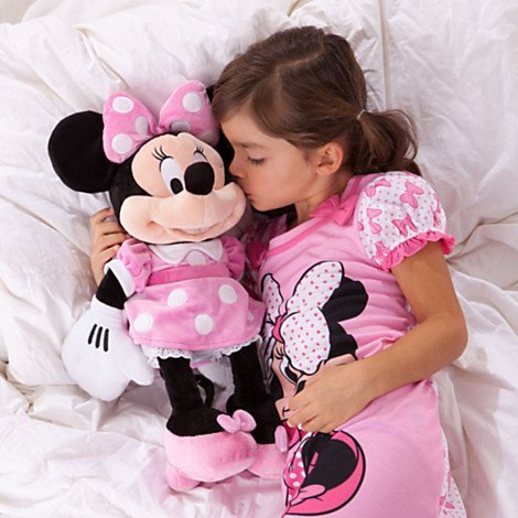 DISNEY MINNIE MOUSE PUPPE Doll PINK